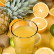 Fruits drink — Stock Photo