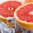Grapefruit slice — Stock Photo