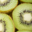 Kiwi fruit slices — Stock Photo