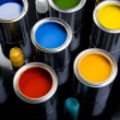 Paint cans — Stock Photo #30684811