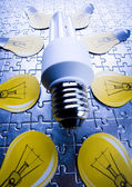 Economical energy — Stock Photo