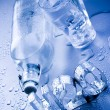 Stock Photo: H2O & Bottle