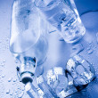 H2O & Bottle — Stock Photo