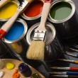 Paint and brush — Stock Photo #30691915