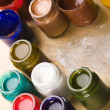 Paints — Stockfoto