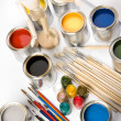 Paint and brush — Stock Photo #30693757