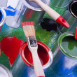 Paint and brush — Stock Photo #30693841