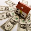 Dollars & House for sale — Stock Photo #30694675