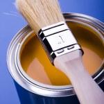 Paint and brush — Stock Photo #30699281
