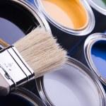 Paint and brush — Stock Photo #30699375