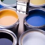 Paint and brush — Stock Photo #30699393