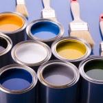Paint and brush — Stock Photo #30699395
