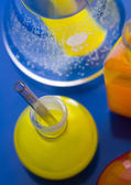 Chemistry equipment, laboratory glassware — Stock Photo