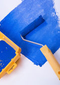 Paint Roller — Stock Photo