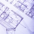 Stock Photo: Architecture plan