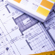 Architecture planning — Stock Photo