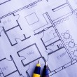 house plan — Stock Photo