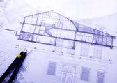 House plan — Stock Photo