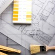 Architectural plans — Stock Photo #30730721