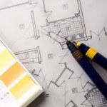 Architecture plan — Stock Photo