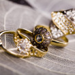 Gemstones - Rings — Stock Photo
