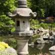 Stock Photo: Japanese garden