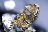 Diamonds - Gemstones - Rings — ストック写真