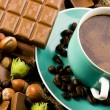 Chocolate & Coffee & Nuts — Foto de Stock