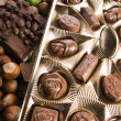 Bars of chocolate — Stock Photo
