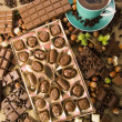 Stock Photo: Chocolate & Coffee
