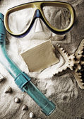 Sea frame — Stock Photo