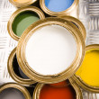 Multi-colored paint — Stock Photo #30767755