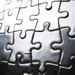 Stock Photo: Puzzle background
