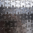 Puzzle background — Stock Photo