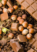 Chocolate & Coffee — Stock Photo