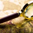 Magnifying glass — Stock Photo #30770689