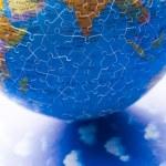 Puzzle globe — Stock Photo #30774757