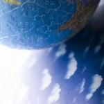 Puzzle globe — Stock Photo #30774775