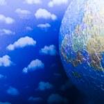 Пазл глобус — Стоковое фото
