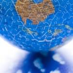 Puzzle globe — Photo