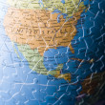 Puzzle globe — Stock Photo #30774875