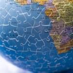 Puzzle globe — Stock Photo #30775025
