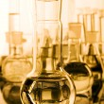Laboratory glassware — Стоковое фото