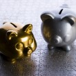 Stock Photo: Money box