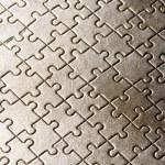 Puzzle background — Stock Photo