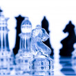 Glass chess — Stock Photo #30780193