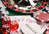 Roleta Casino & — Fotografia Stock