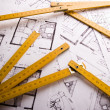 Architecture plan — Stock Photo