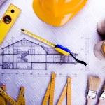 План архитектуры — Стоковое фото