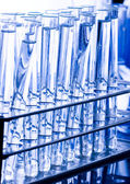Sterile conditions, Laboratory glass — Stock Photo